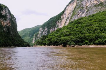 Canyon del Sumidero - Panoramic view