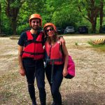 Manu e marco al rafting fiume Corno
