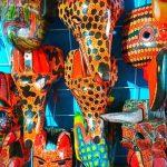 maschere-mercato-san juan chamula