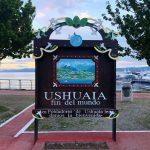 targa ushuaia fin del mundo argentina