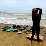 surfista su malecon