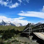 ponte di ferro ingresso torres del paine