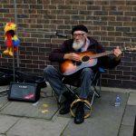 cantante di strada hackney