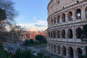 roma a piedi itinerario
