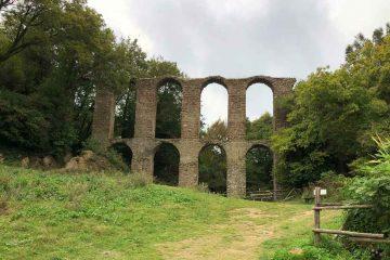 resti acquedotto antica monterano