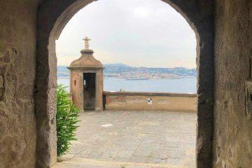 visita al castello aragonese di baia