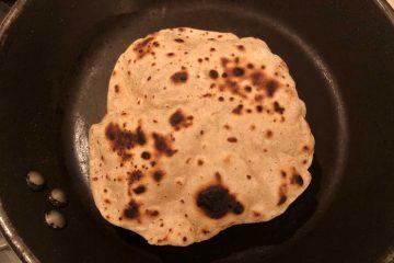 tortillas messicane in cottura