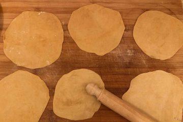 tortillas messicane stese