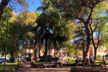 Giardini piazza bernini San Saba roma