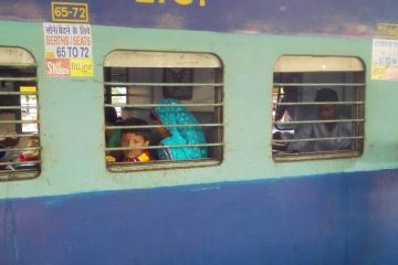 Classe economica treno satna varanasi