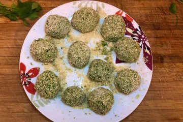 kofta polpette spinaci