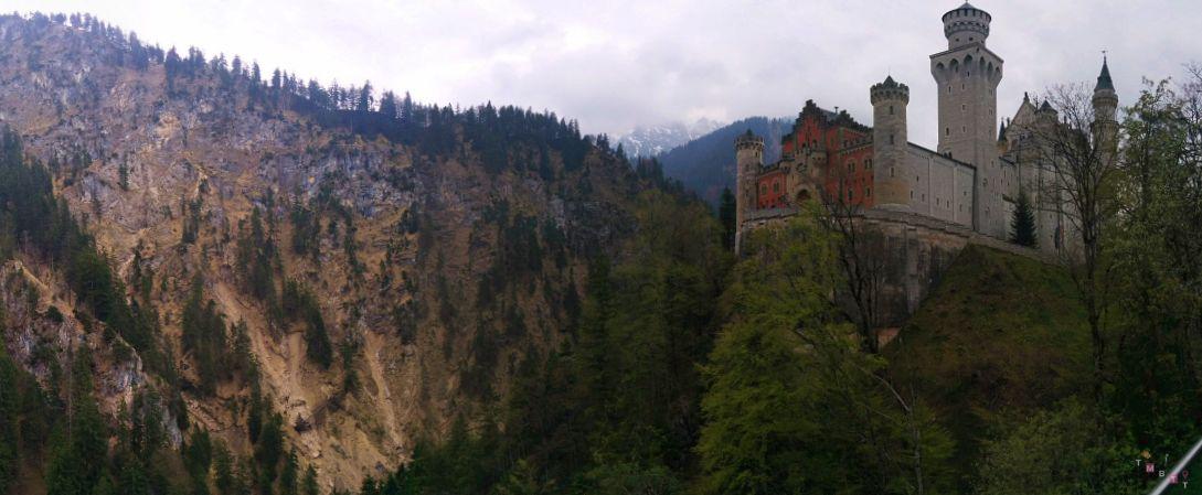 vista di castello neuschwanstein