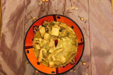 pollo al curry verde thai