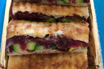 sandwich carne secca e zucchine bar del cappuccino