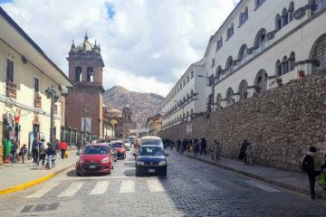 Calle santa clara - cusco