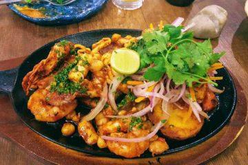 La morena cusco - piatto misto di pesce