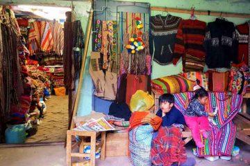Cusco ingresso negozio e bambini