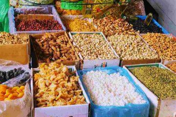 mercato cusco - frutta secca