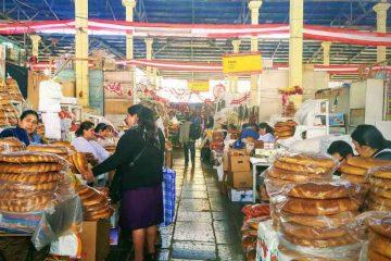 mercato cusco - pane