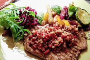 piatto di manzo e verdure cena da aline lieician vilnius