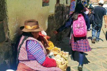 venditrice frittelle - cusco