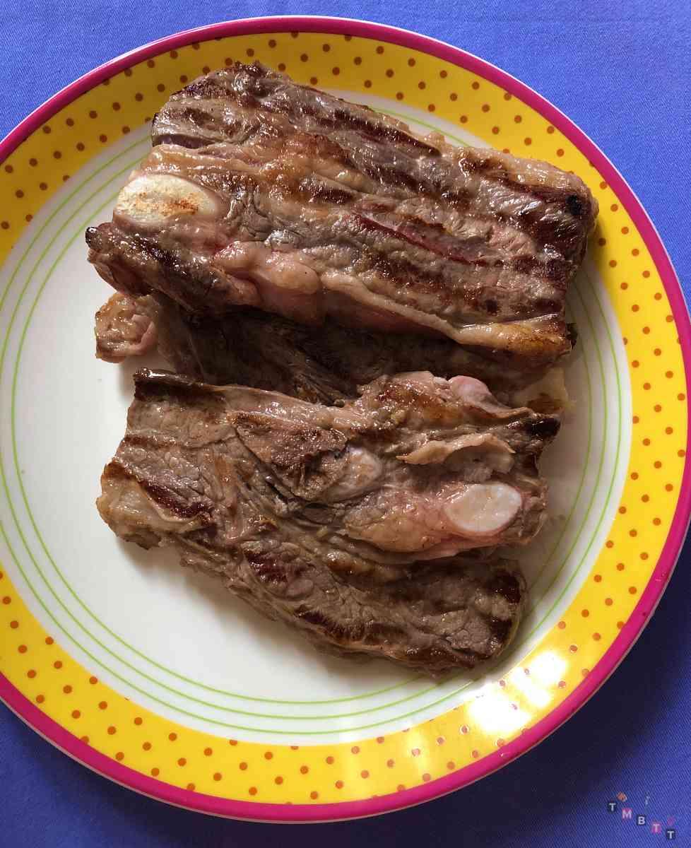 Asado argentino cucinato in casa
