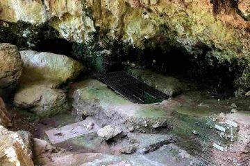 Resti grotta del romito calabria