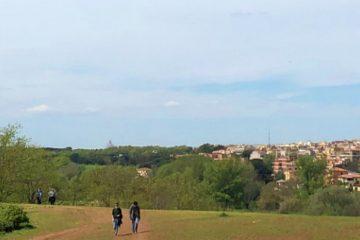 belvedere cupolone roma parco della caffarella