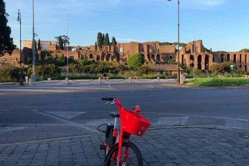 percorsi bici roma