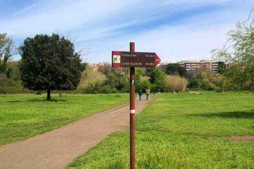 sentieri parco caffarella roma