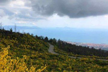 Vista Capri da Vesuvio