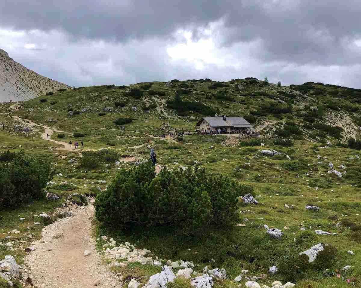 Malga Langalm sentiero 105 Lavaredo