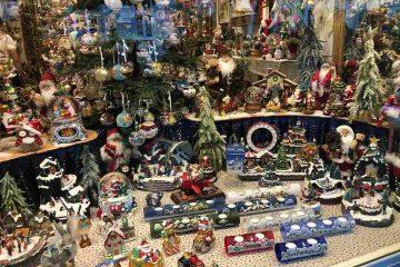 Merano Vetrina addobbi natalizi