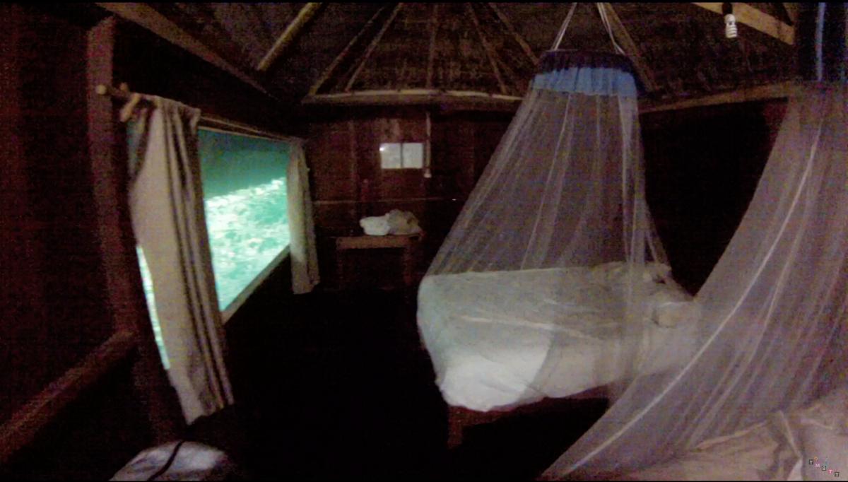 dormire nella giungla messico