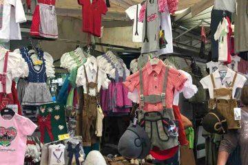 mercatino Merano abiti tirolesi