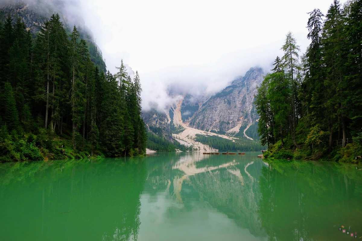 vista lago di braies