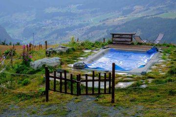 piscina termale rifugio baita belvedere