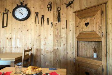 sala colazioni baita belvedere